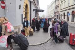 Abfahrt aus Krakau